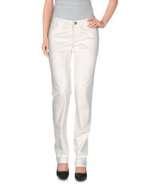 Повседневные брюки SIVIGLIA. Цвет: белый
