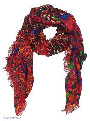 Платок Stilla s.r.l.. Цвет: бордовый