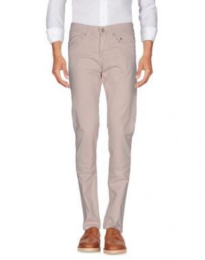 Повседневные брюки SIVIGLIA. Цвет: светло-розовый
