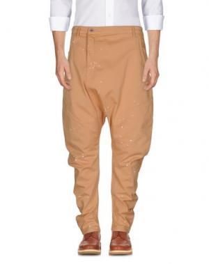 Повседневные брюки NUMERO 00. Цвет: верблюжий