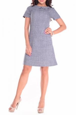 Платье Laura Bettini. Цвет: дымчатый