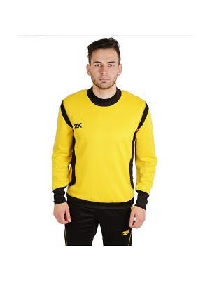 Тренировочный джемпер Vettore 2K. Цвет: желтый, черный