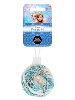 Набор резинок 27шт., Снежок Daisy Design. Цвет: голубой