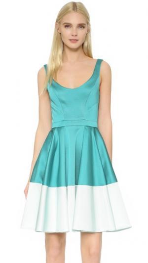 Платье ZAC  Charlotte Posen. Цвет: typhoon