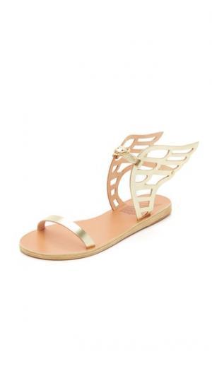 Сандалии Ikaria Ancient Greek Sandals. Цвет: золотой