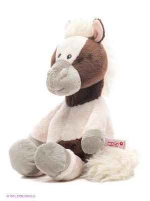 Пони Пунита NICI. Цвет: молочный, темно-коричневый