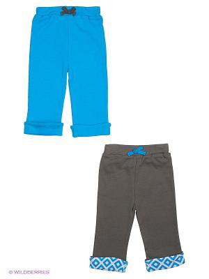 Брюки, 2 шт. Yoga Sprout. Цвет: голубой