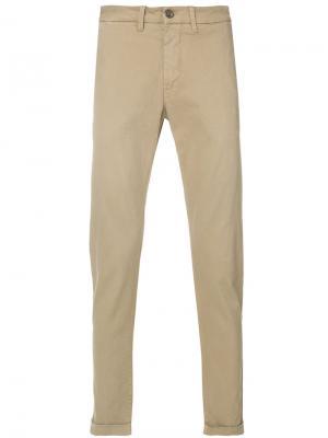Классические брюки чинос Re-Hash. Цвет: телесный