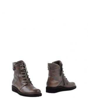 Полусапоги и высокие ботинки HENRY BEGUELIN. Цвет: голубиный серый