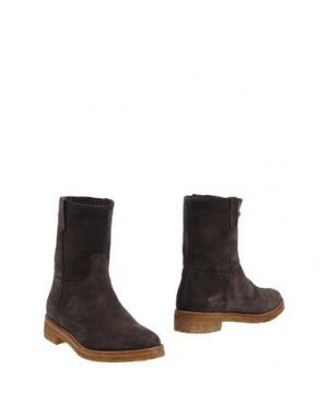 Полусапоги и высокие ботинки FABIO RUSCONI. Цвет: свинцово-серый