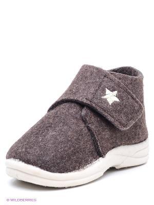 Ботинки SKIDDERS. Цвет: коричневый