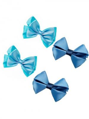Набор аксессуаров для волос City Flash. Цвет: синий, белый, бирюзовый