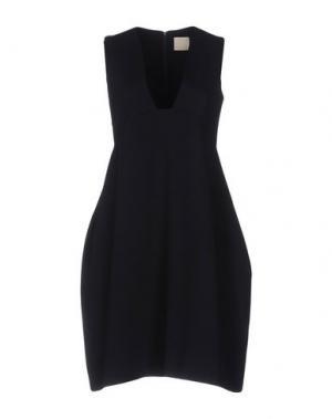 Короткое платье TROU AUX BICHES. Цвет: синий