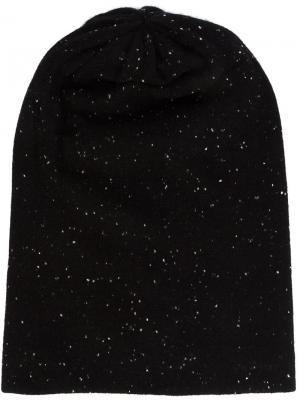 Кашемировая шапка  Deadhead Thomas Wylde. Цвет: чёрный