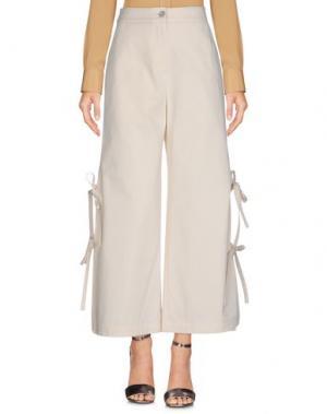 Повседневные брюки NEUL. Цвет: слоновая кость