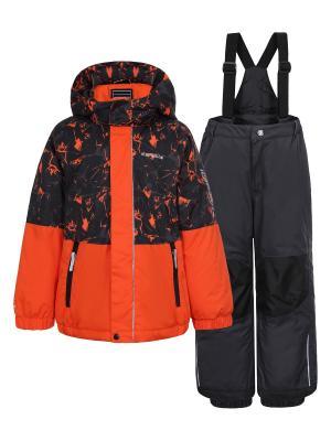 Комплект (куртка+брюки) Icepeak. Цвет: серый, оранжевый