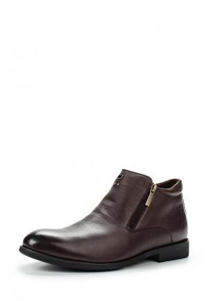 Ботинки классические Dino Ricci Select. Цвет: коричневый