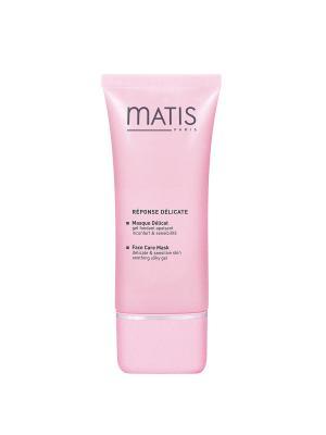Линия для чувствительной кожи Успокаивающая маска, 50 мл Matis. Цвет: розовый
