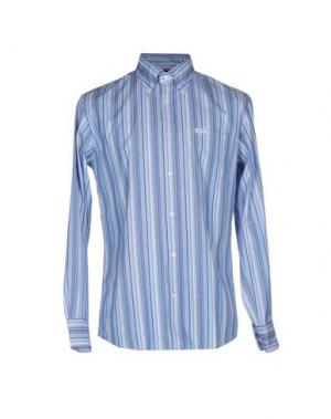 Pубашка FAÇONNABLE. Цвет: синий