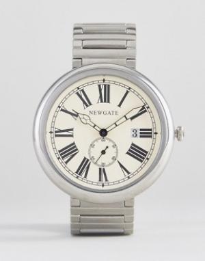 Newgate Часы с римскими цифрами Liberty. Цвет: серебряный