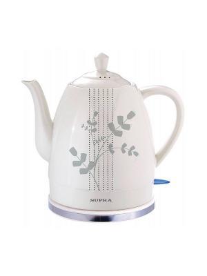 Чайник электрический Supra. Цвет: белый