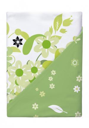 Комплект постельного белья 2-спальный Verossa. Цвет: зеленый