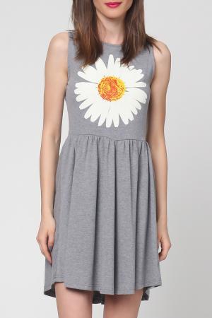 Платье Grazia. Цвет: серый