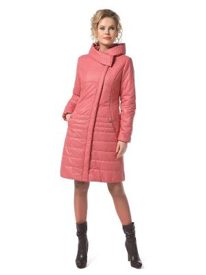 Пальто DizzyWay. Цвет: коралловый