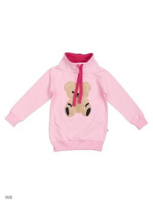 Свитшот Mini Maxi. Цвет: розовый
