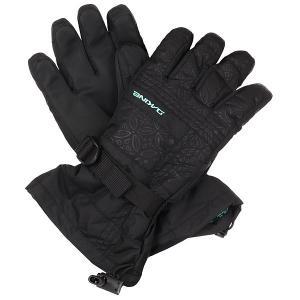 Перчатки сноубордические женские  Capri Glove Tory Dakine. Цвет: черный