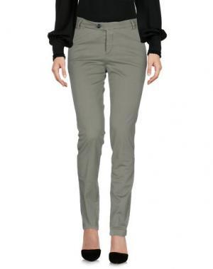 Повседневные брюки BE FOR Milano. Цвет: зеленый-милитари