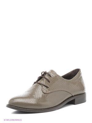 Туфли Roccol. Цвет: серо-коричневый