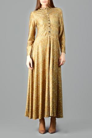 Платье CLAUDIA MILLEN. Цвет: желтый