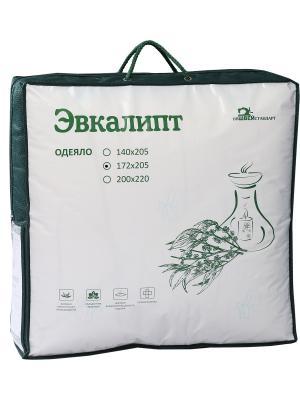Одеяло ЭВКАЛИПТ ИвШвейСтандарт. Цвет: молочный, серый