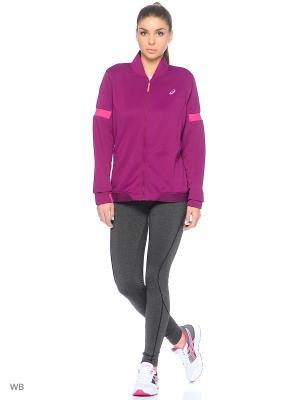 Куртка Track Jacket ASICS. Цвет: сливовый