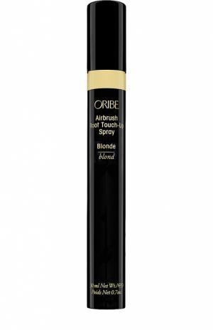Спрей-корректор цвета для корней волос, оттенок Светло-русый Oribe. Цвет: бесцветный