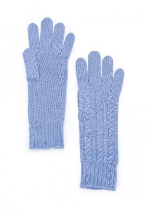 Перчатки United Colors of Benetton. Цвет: голубой