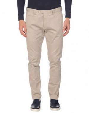 Повседневные брюки EXIBIT. Цвет: бежевый