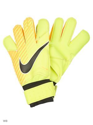 Вратарские перчатки NK GK GRP3 Nike. Цвет: желтый, оранжевый