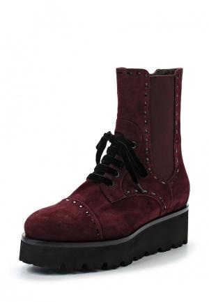Ботинки Nando Muzi. Цвет: бордовый