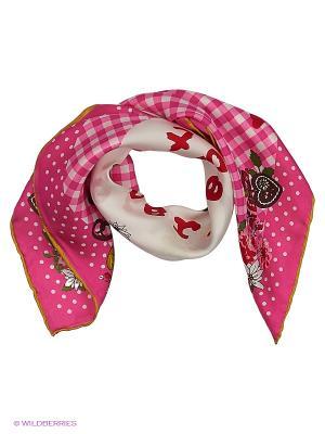 Платок CODELLO. Цвет: малиновый, бледно-розовый, розовый