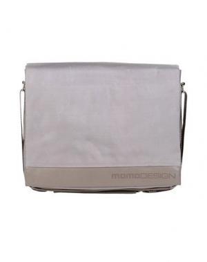 Деловые сумки MOMO DESIGN. Цвет: серый