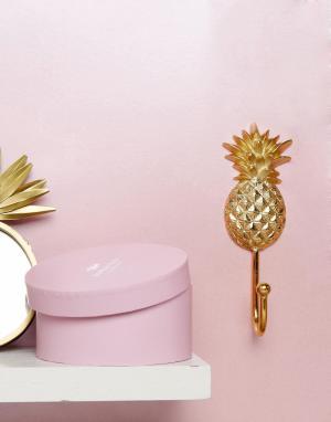 Bombay Duck Золотистый крючок в виде ананаса. Цвет: мульти