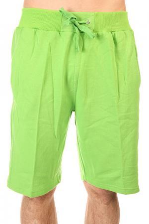 Шорты классические  Light Fleece Sweatshorts Limr Green Urban Classics. Цвет: зеленый