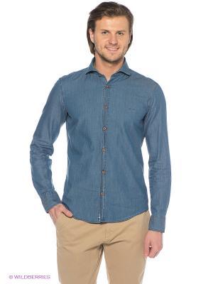 Рубашка ARROW. Цвет: синий