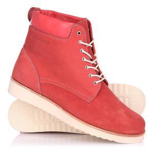 Ботинки зимние женские  Teana Classic Red Rheinberger. Цвет: красный
