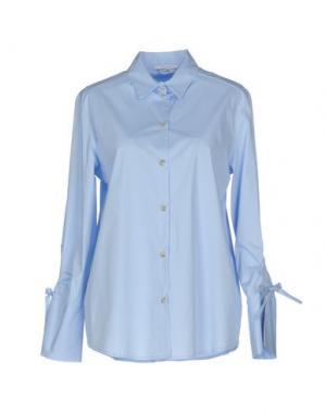 Pубашка BIANCOGHIACCIO. Цвет: небесно-голубой