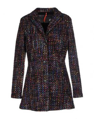 Пальто RRD. Цвет: фиолетовый