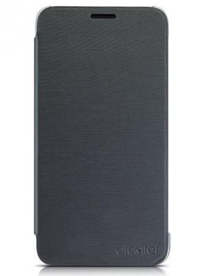 Чехол-книжка One Touch AF5056 Alcatel. Цвет: черный