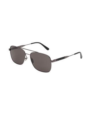 Солнцезащитные очки Bottega Veneta. Цвет: серебристый, серый